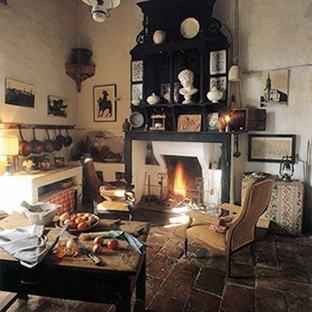 the kitchen loubens lauragais castle toulouse area france. Black Bedroom Furniture Sets. Home Design Ideas